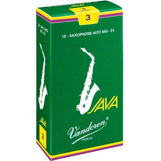 Vandoren Java Alto Sax Reeds (10 per box)