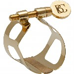 BG Tradition Gold Plated Clarinet Ligature and Cap