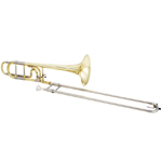 Jupiter Tribune Trombone - Rose Brass Bell & Open Wrap
