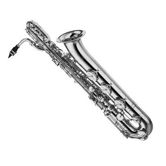Yamaha Professional Baritone Saxophone - Silver Plating