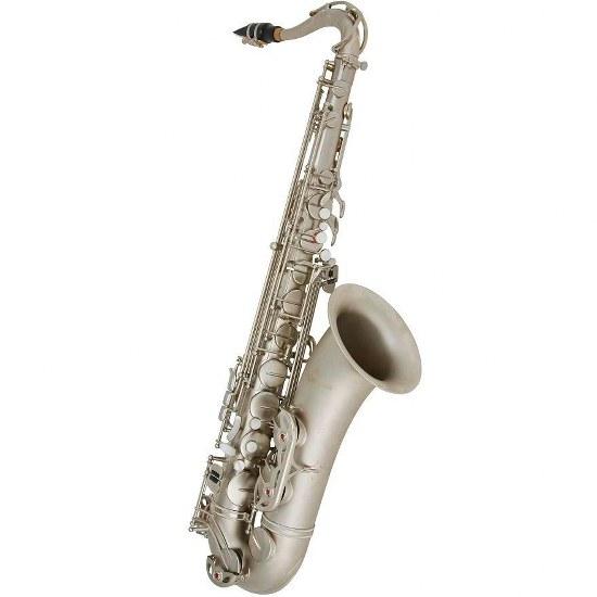 Antigua Power Bell Tenor Saxophone - Classic Nickel Finish