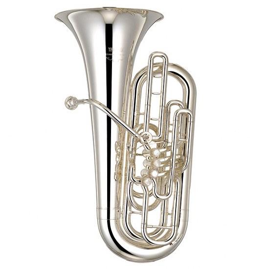 """Yamaha """"Roger Bobo"""" F Tuba - Silver Plating"""