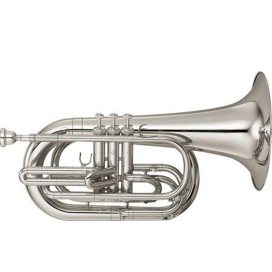 Yamaha Marching Baritone Horn - Silver Plating