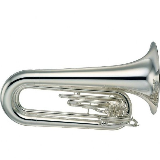 Yamaha Marching Tuba - Silver Plating