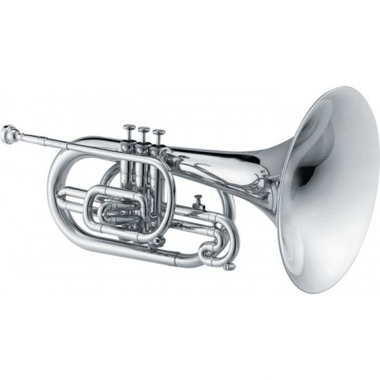 Jupiter Qualifier Marching F Mellophone [Silver Plated]
