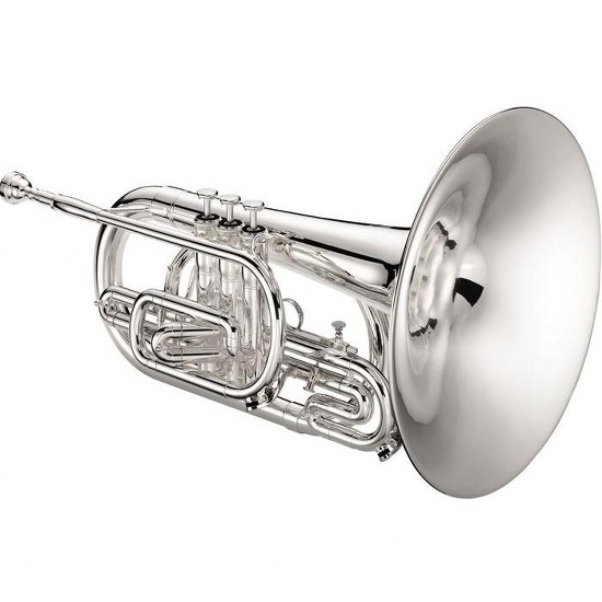 Jupiter Quantum F Marching Mellophone [Silver Plated]