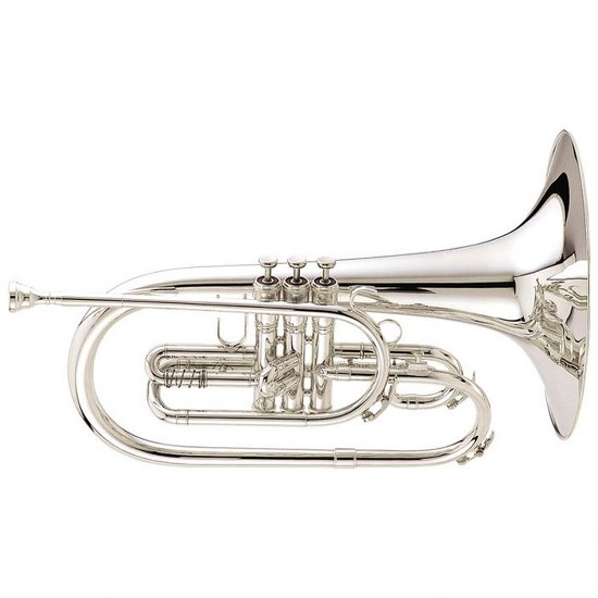 "King ""Ultimate"" Marching Mellophone - Silver-Plated"