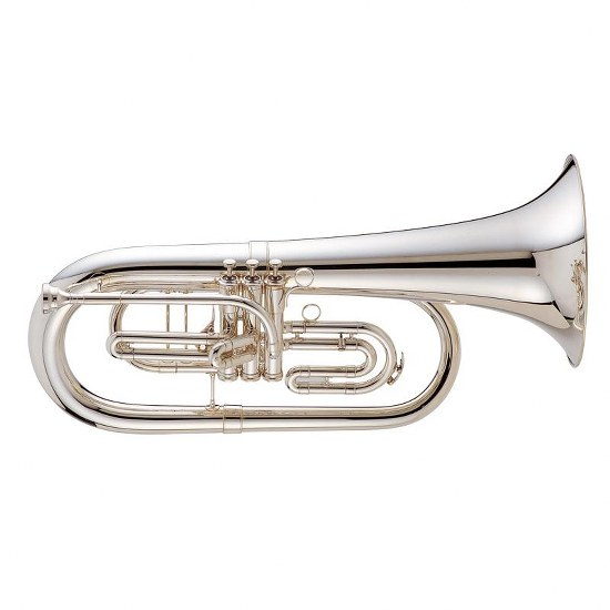 "King ""Ultimate"" Marching Euphonium - Silver-Plated"
