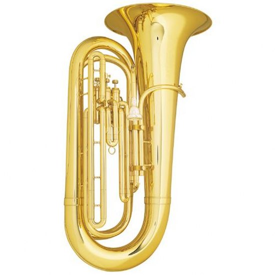 King Convertible Marching Tuba - With Case
