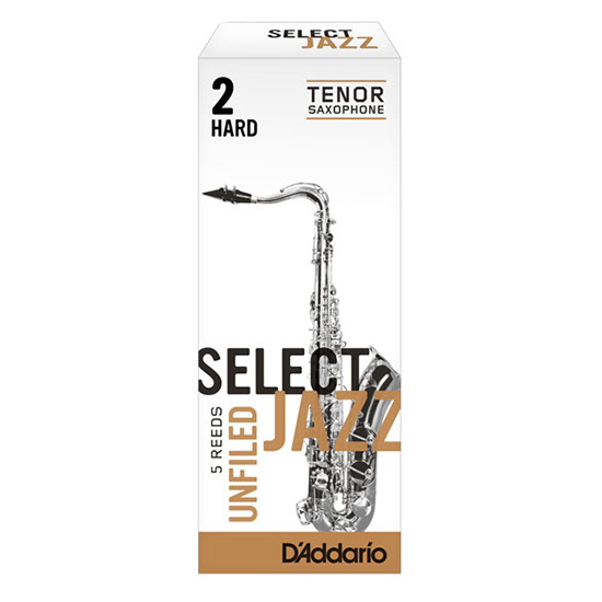 D'Addario (Rico) Select Jazz Tenor Saxophone Reeds - Unfiled