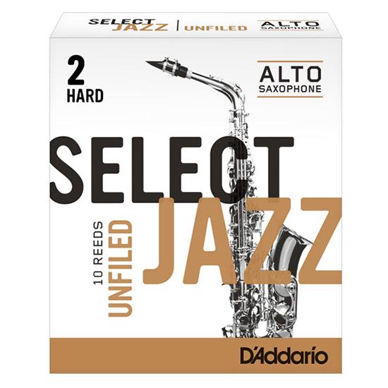 D'Addario (Rico) Select Jazz Alto Saxophone Reeds - Unfiled