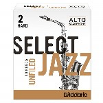 D'Addario (Rico) Select Jazz Alto Saxophone Reeds - Unfiled