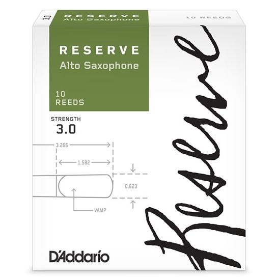 D'Addario (Rico) Reserve Alto Saxophone Reeds