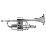 Blessing Student Cornet [Silver Finish]