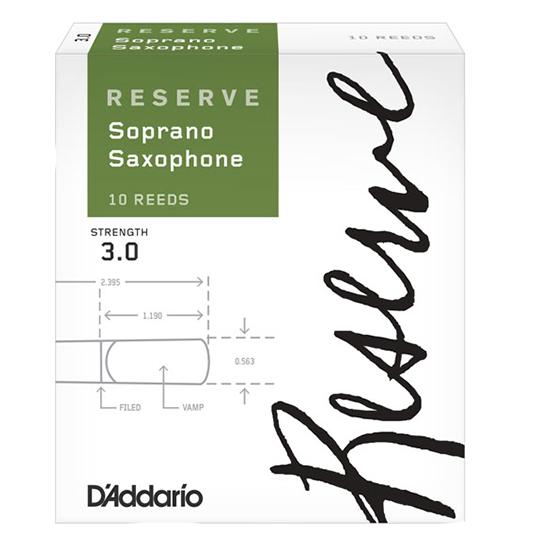 D'Addario (Rico) Reserve Soprano Saxophone Reeds
