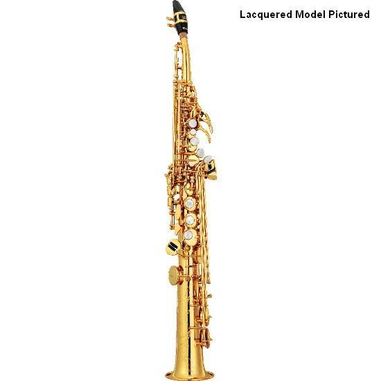 Yamaha Custom Z Curved Neck Soprano Saxophone - Unlacquered