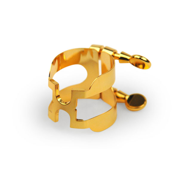 H-Ligature and Cap for Bb Clarinet - Gold Plated