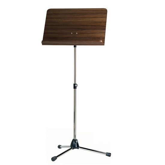 K&M Folding Music Stand - Wooden Desk - Multiple Finishes!