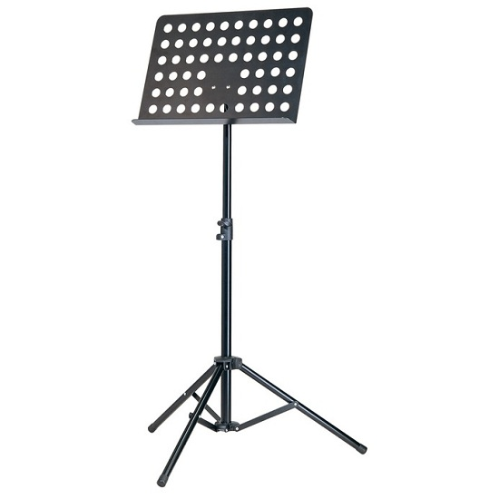 K&M Orchestra Music Stand - Perforated Desk