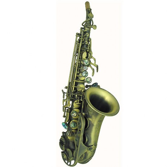 P. Mauriat Curved Bell Soprano Saxophone - Vintage Dark Lacquer