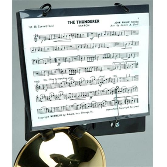 DEG Trumpet Flip Folder - Clips on Bell