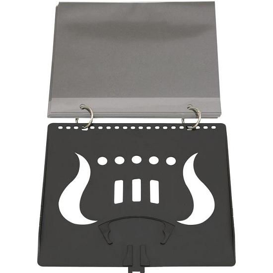 Trophy Flip Folder - Black