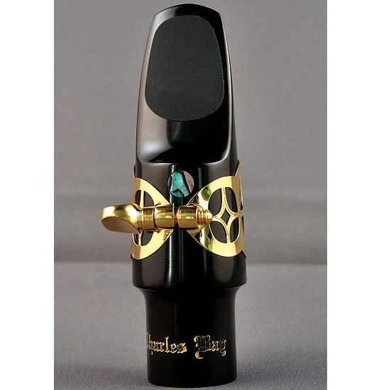 "Charles Bay ""Sapphire"" Alto Saxophone Mouthpiece, Ligature, and Cap"