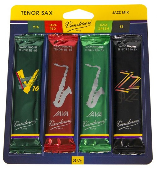 Vandoren Jazz Mix Tenor Saxophone Reeds