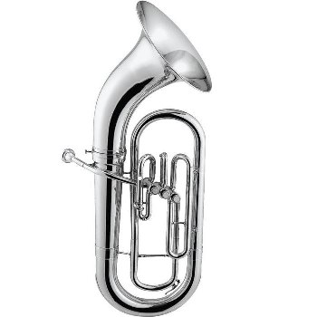 Jupiter Deluxe Euphonium [Silver-plated]