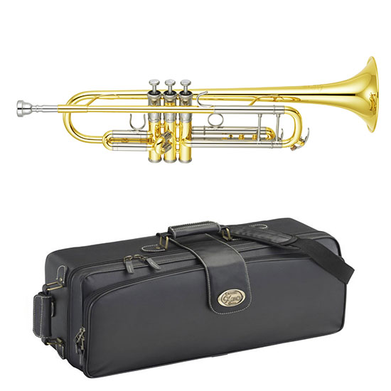 Yamaha Xeno II Professional Bb Trumpet - Gold Brass Bell - Newly Redesigned!
