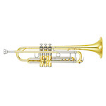 Yamaha Xeno II Professional Bb Trumpet - Large Bore/Gold Brass Bell - Newly Redesigned!