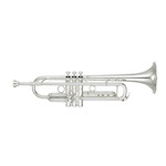 Yamaha Xeno II Professional Bb Trumpet - Large Bore/Reverse Leadpipe/Silver - Newly Redesigned!