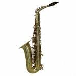"""LA Sax BIG LIP """"X"""" Alto Saxophone - Unpolished Brass"""