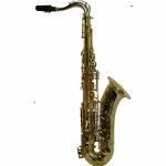"""LA Sax BIG LIP """"X"""" Tenor Saxophone - Unpolished Brass"""