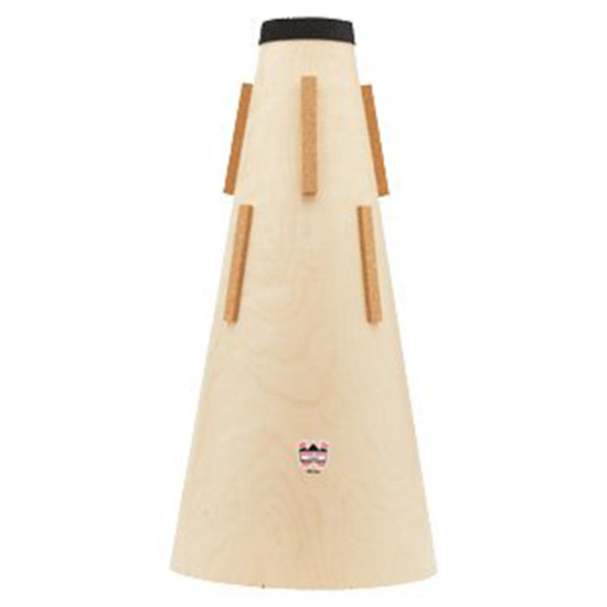 Denis Wick Wooden Straight Mute for Eb Tuba