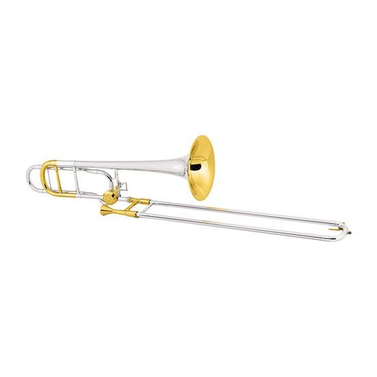 Conn Professional Tenor Trombone - Sterling Silver Bell/Gold Trim