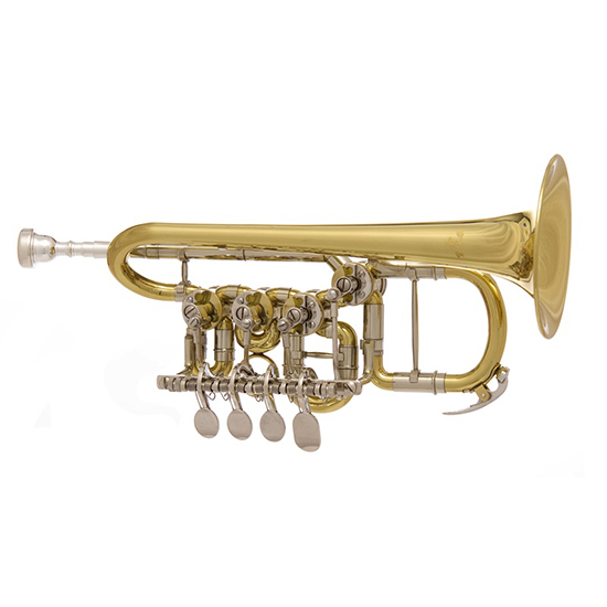 John Packer Bb/A Rotary Piccolo Trumpet