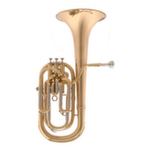 John Packer Sterling Professional Baritone Horn - Multiple Finishes