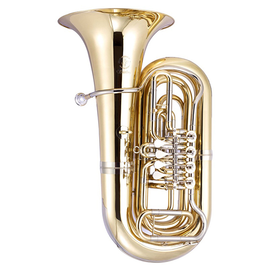 John Packer Professional 3/4 Size Rotary Bb Tuba