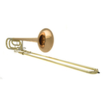 John Packer Intermediate Bb/F Trombone - Rose Brass Bell
