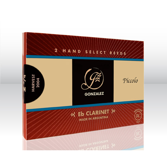 Gonzalez Regular Cut Eb Clarinet Reeds - Box of 10