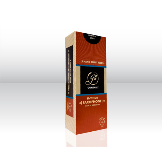 Gonzalez Regular Cut Tenor Saxophone Reeds - Box of 5