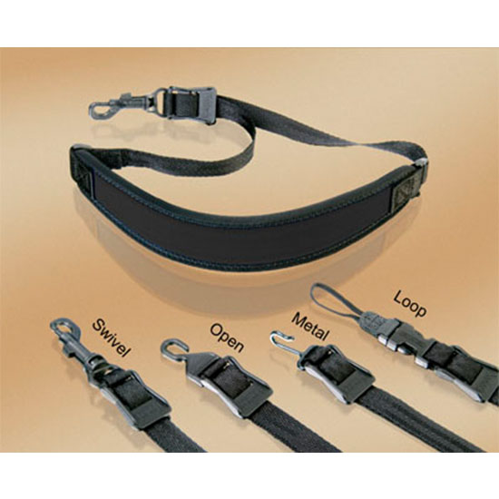 "Neotech ""Classic Strap"" Saxophone Strap - Multiple Hook/Size Options"