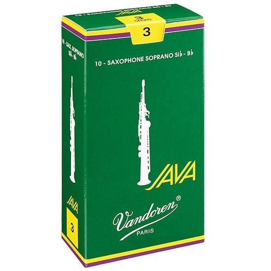 Vandoren Java Soprano Sax Reeds (10 per box)