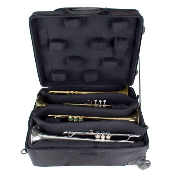 Pro Tec iPac Quadruple Trumpet Case